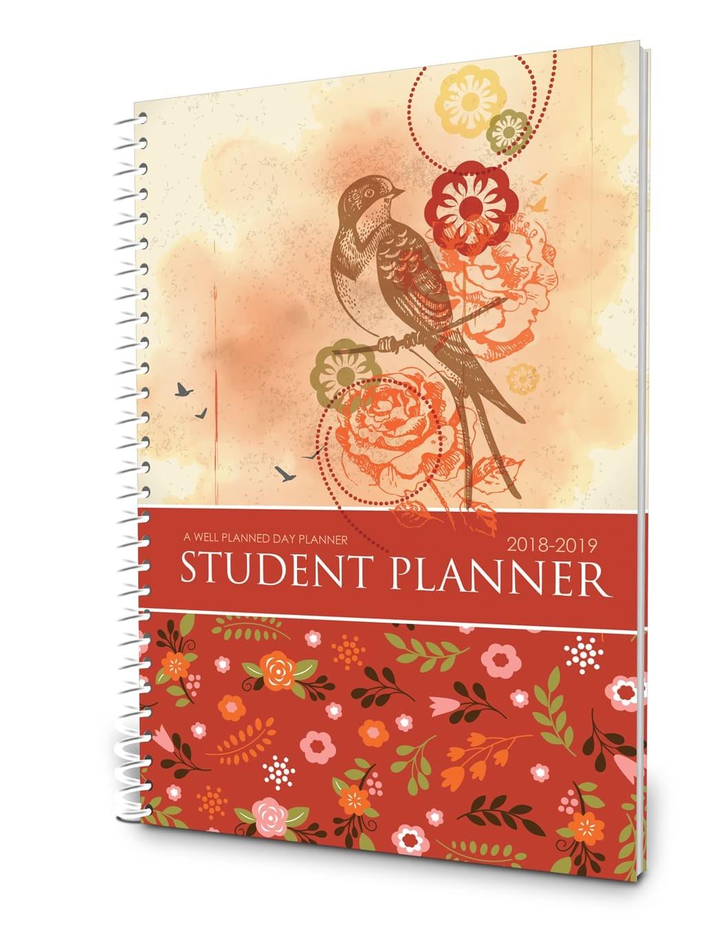 Student Planner - Floral
