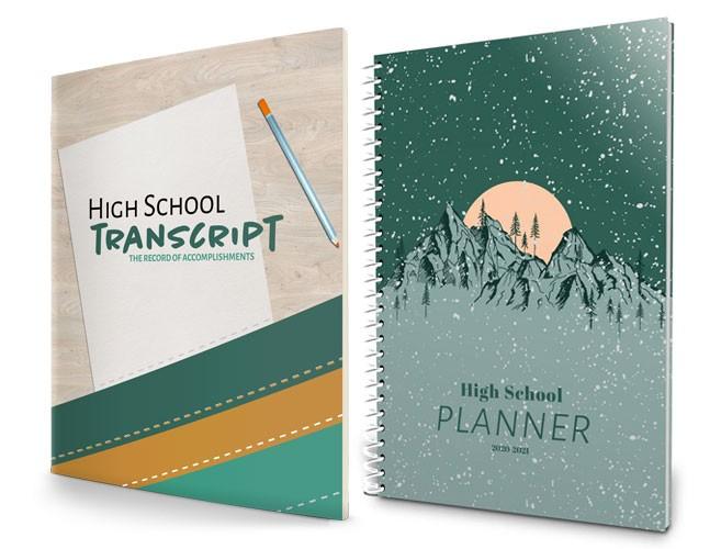 2020-2021 High School Planner - Mountains