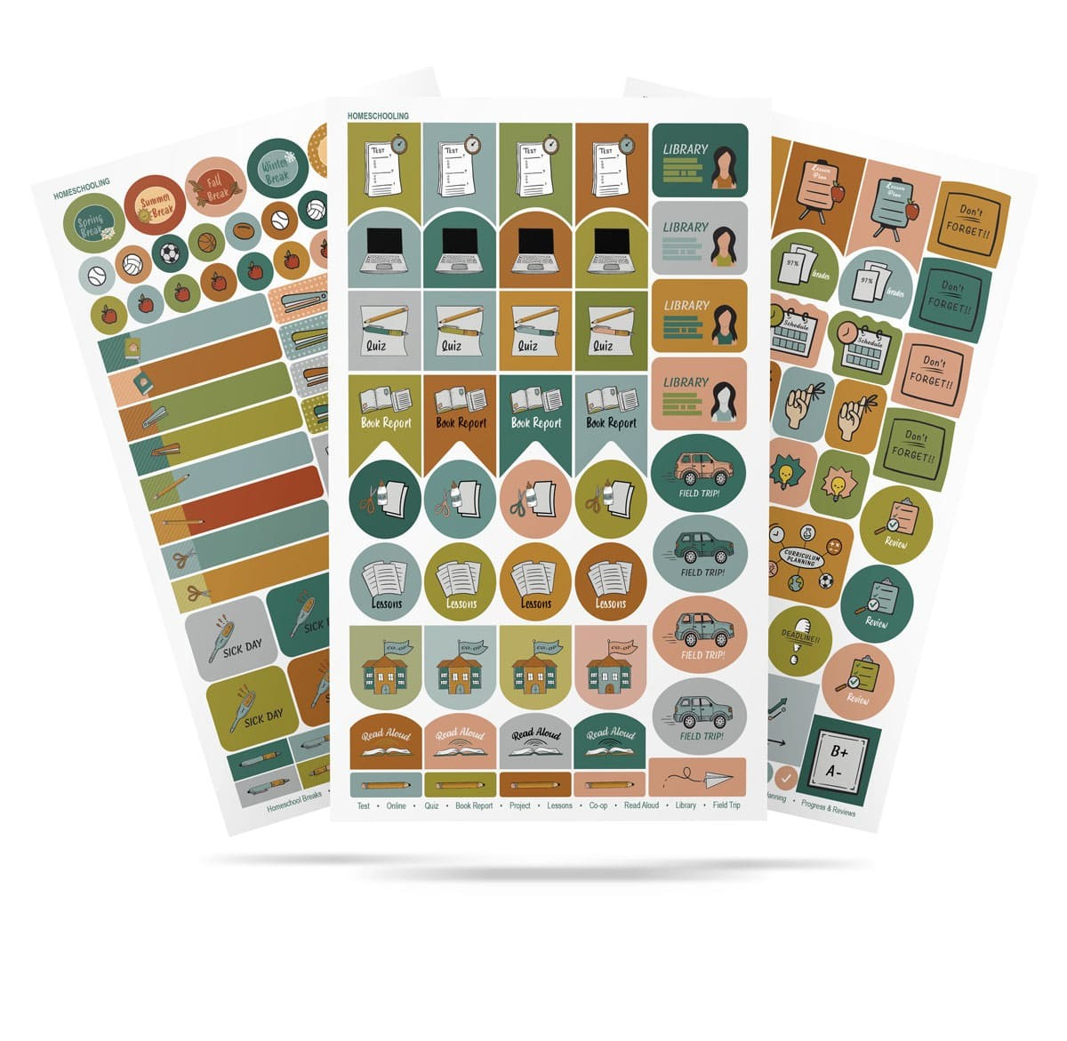 Homeschool Stickers