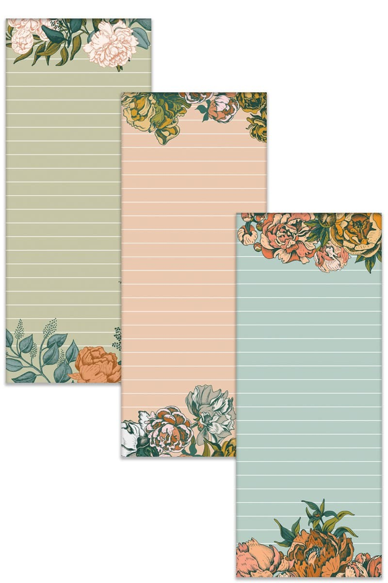 Planner Floral Sticky Notes