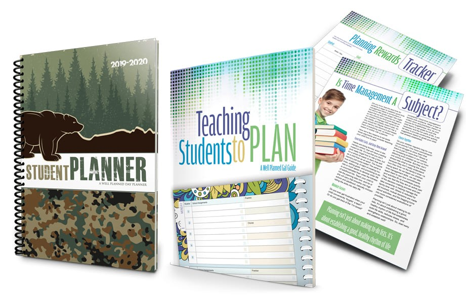 2019-2020 Student Planner - Camping Camo
