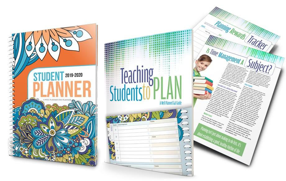 2019-2020 Student Planner - Dazzling Doodles