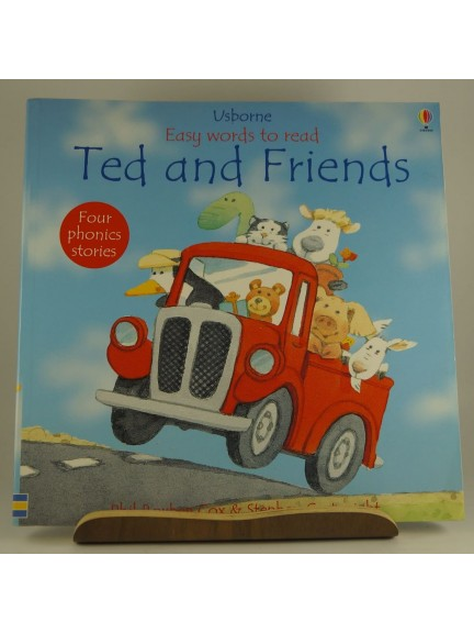 Usborne Easy Words to Read: Ted and Friends