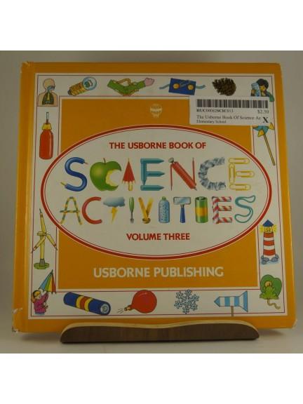 The Usborne Book of Science Activities Volume Three