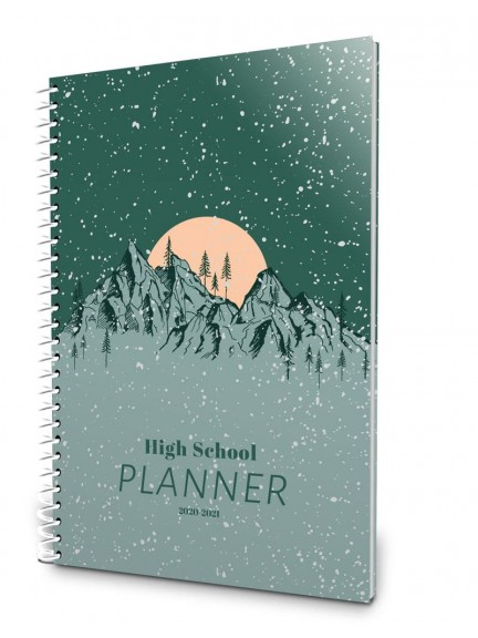 2020-2021 High School Planner - Mountains