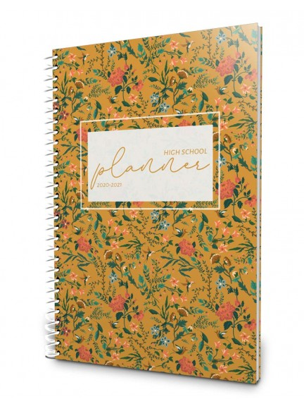 2020-2021 High School Planner - Flowering