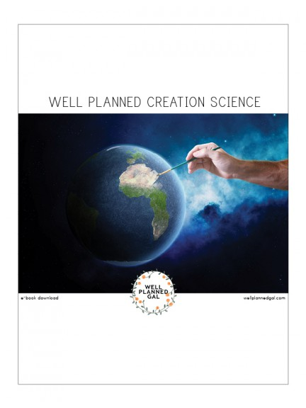 Well Planned Creation Science