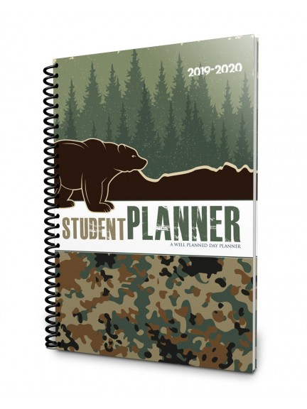 2019-2020 Student - Camping Camo