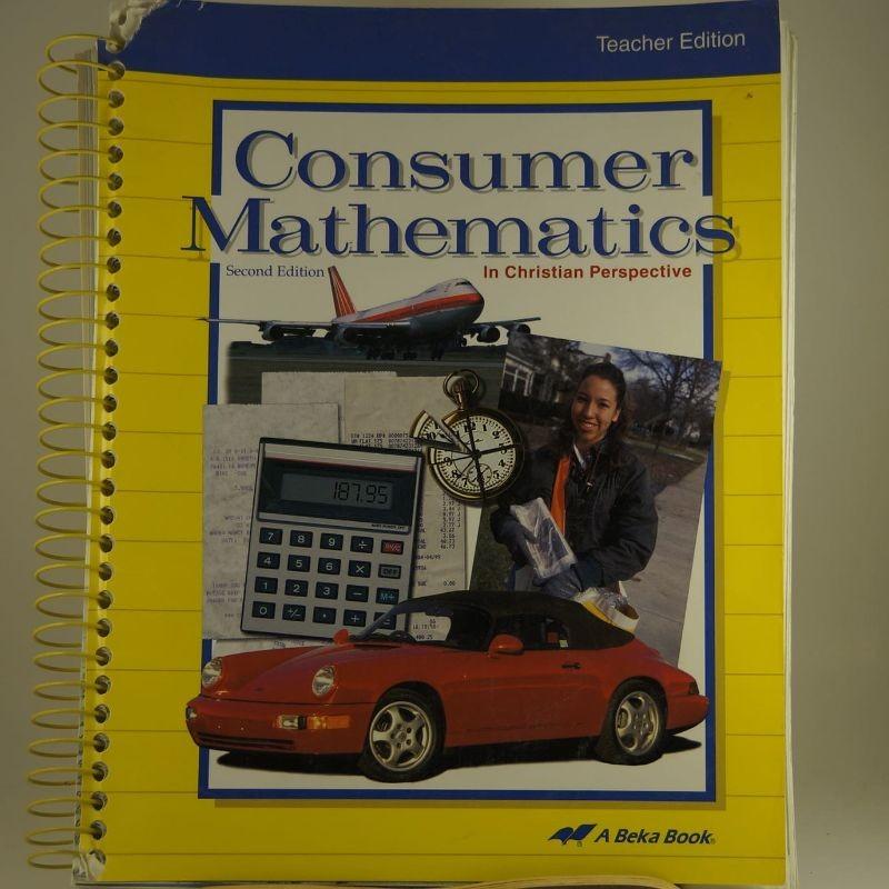 abeka consumer math final test