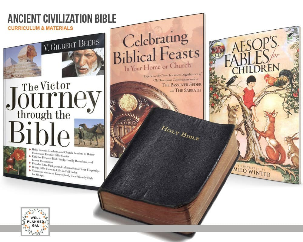 Bible 6th Grade Well Planned Lessons Ancient Civilizations 4000