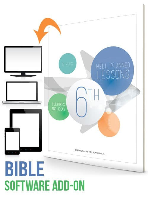 Bible 6th Grade Well Planned Lessons Cultures Ideas 69 1715